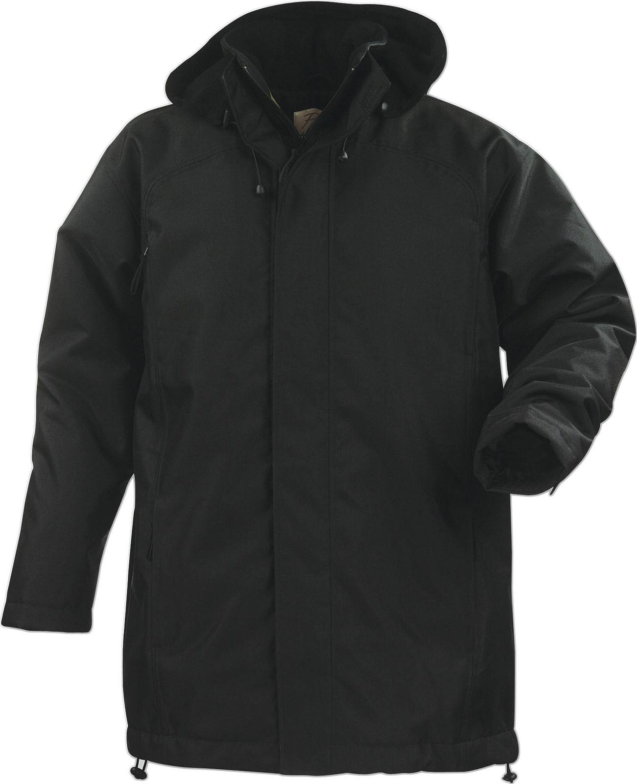 parka publicitaire doubl e polaire avec capuche amovible vestes personnalis es kelcom. Black Bedroom Furniture Sets. Home Design Ideas