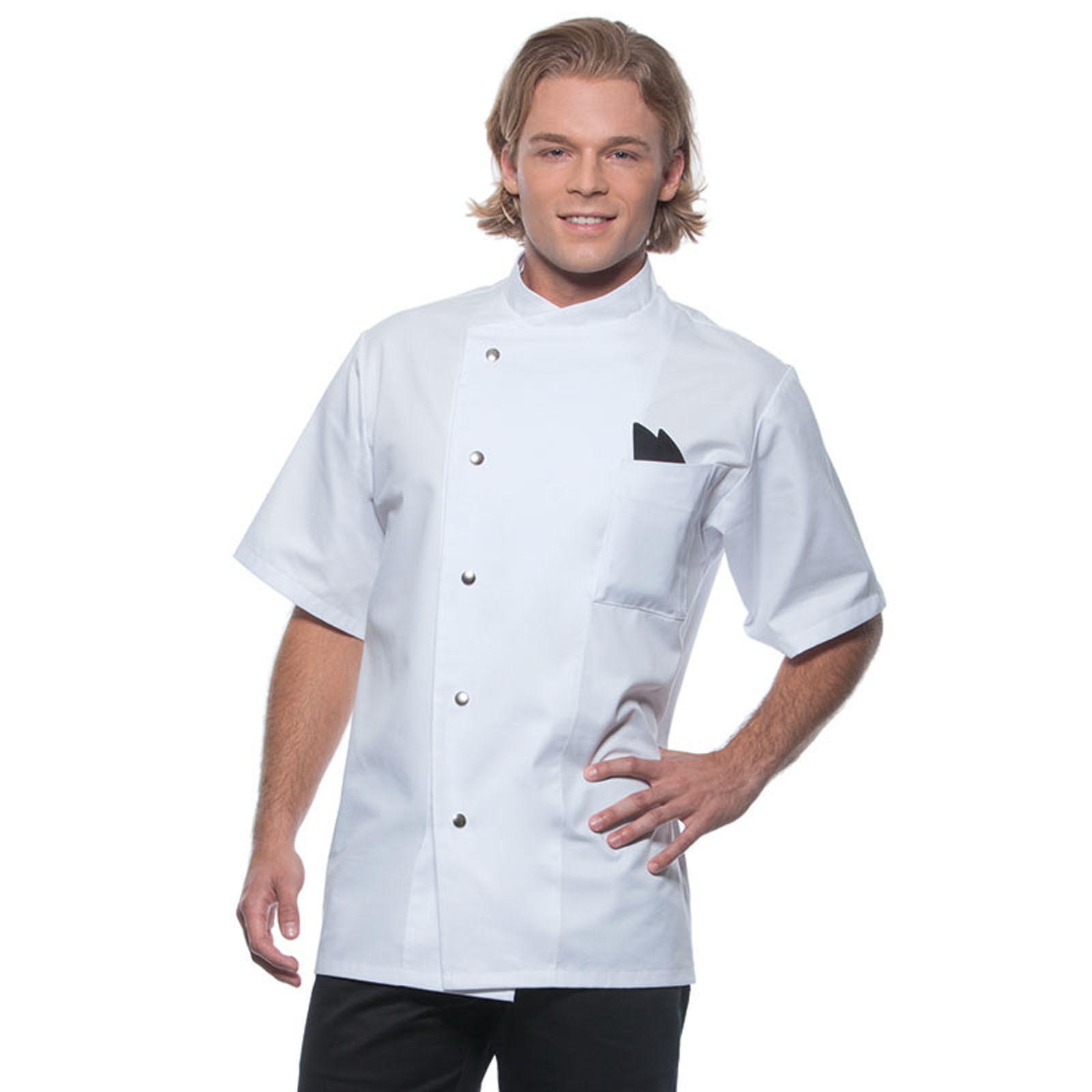 veste de cuisinier personnalisee - le manches courtes - gustav ... - Veste De Cuisine Personnalisee