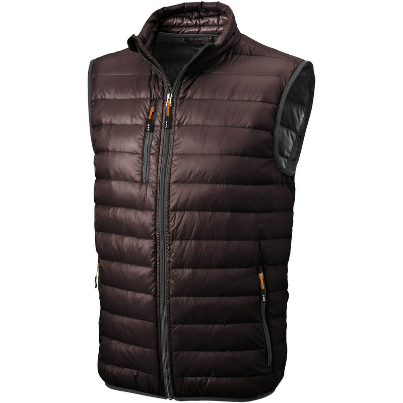 Fairview | Bodywarmer publicitaire pour homme Chocolate brown