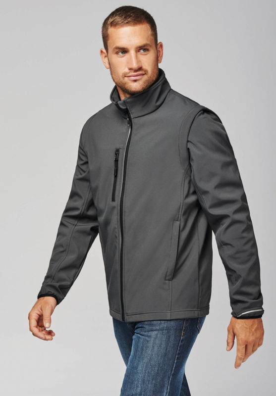Xusy | Softshell Sport publicitaire pour homme