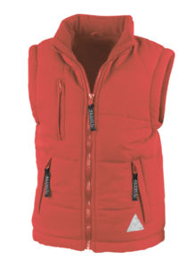 Gipe | Bodywarmer Coupe-Vent publicitaire pour homme Rouge 2