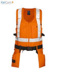 orange - Veste professionnel