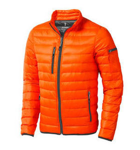 Scotia light down | Veste publicitaire pour homme Orange
